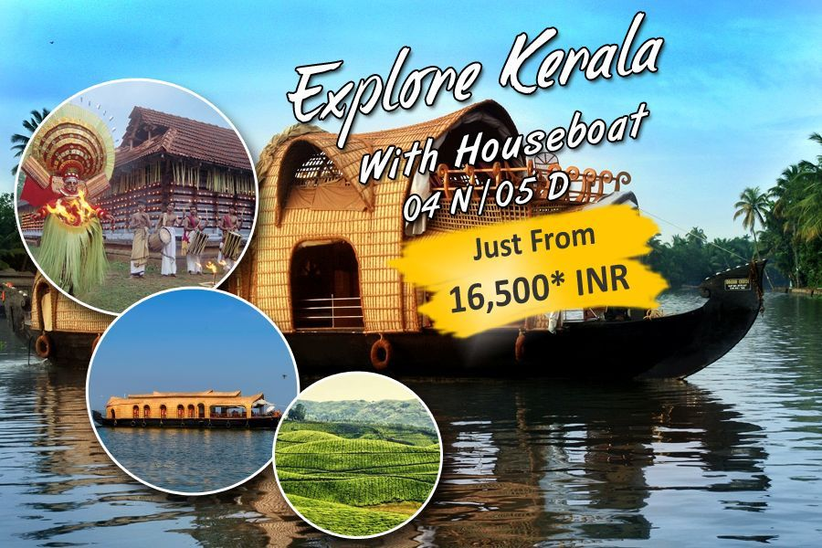 Explore Kerala With HouseBoat